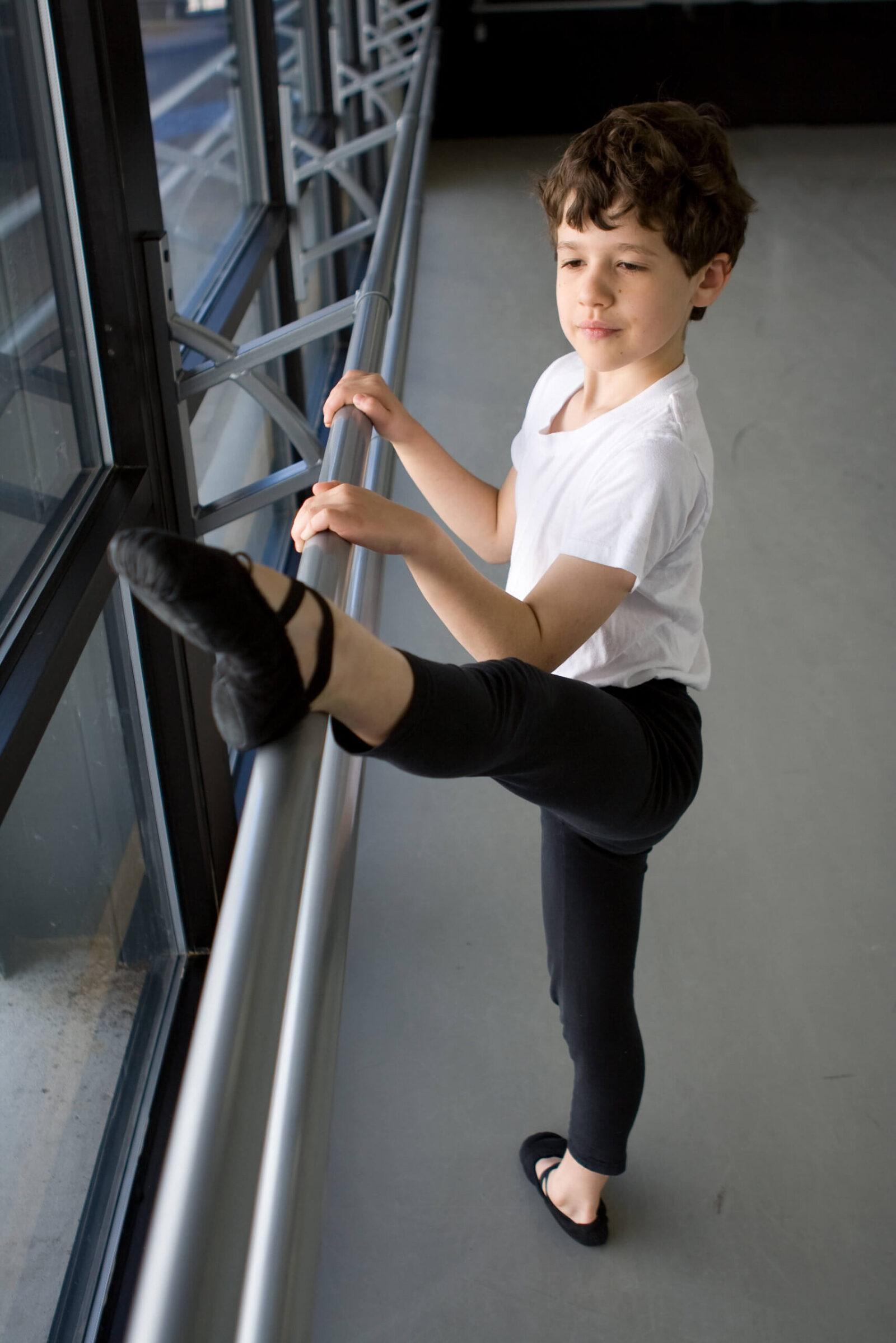 Dancer portrait by Tiffany Campbell Photography - young boy
